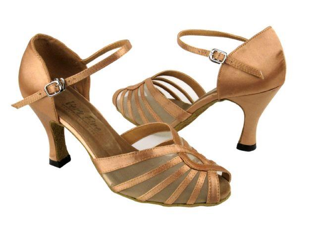 Very Fine Mesh Ballroom Shoe